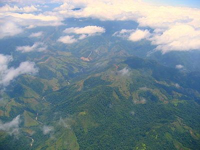 Flying Over Costa Rica