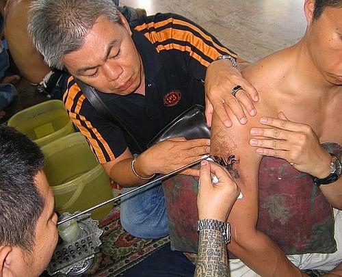 tatouage kick boxing